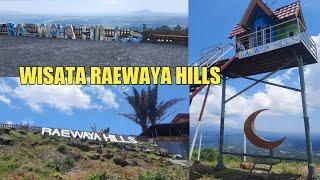 View Luar Biasa Wisata Raewaya Hills Manado Minut, Gunung Klabat Minahasa Utara Mantull Pandangan