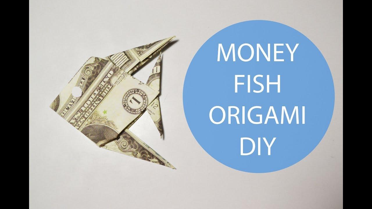 Money fish origami dollar folded tutorial no glue diy youtube money fish origami dollar folded tutorial no glue diy jeuxipadfo Choice Image