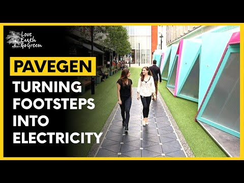 Pavegen   Floor tiles that generate electricity from footsteps   Green Technologies We Need