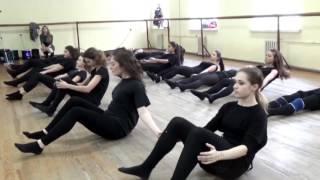 20161222 - Экзамен по современному танцу