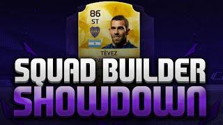 SQUAD BUILDER SHOWDOWN VS ANDY!!!| CARLOS TEVEZ!