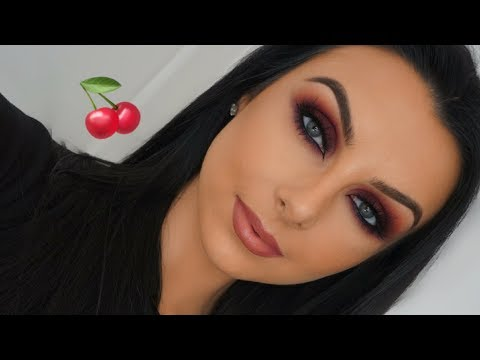 BERRY BLOWN OUT SMOKEY EYES | TUTORIAL | Serena Cleary