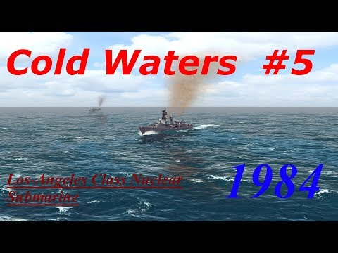 Cold Waters 1984 Campaign Los-Angeles Class #5- Silent Service