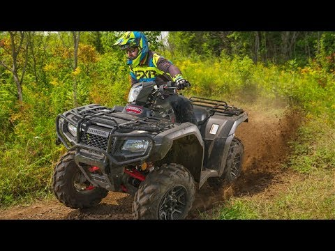 Full REVIEW: 2017 Honda Foreman Rubicon 500 Deluxe