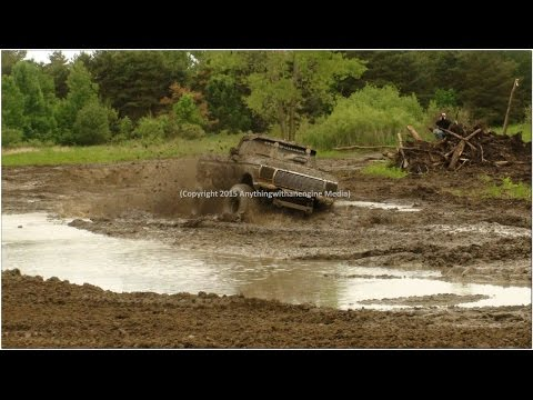 PART THREE MUD TRUCKS PLAY IN THE MUD AT SILVER BULLET SPEEDWAY MUD BOG MAY 31ST, 2015 OWENDALE, MIC