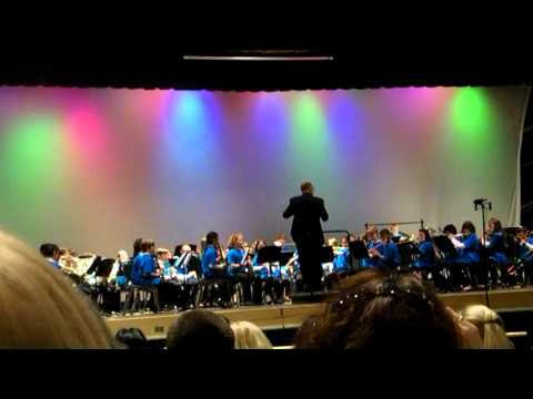 Pennsbury Elementary Honors Band - Jazz Cats - 3/8/14