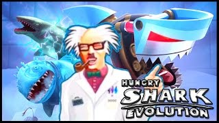 SPECIAL SHARKS - BEST SHARKS! - Hungry Shark Evolution All Sharks - ALL EVOLUTION SHARKS GAMEPLAY!