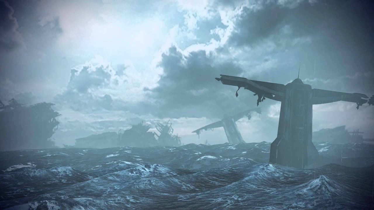 Mass Effect 2 Hd Wallpaper Mass Effect 3 2181 Despoina Rough Seas 4 Dreamscene Video