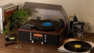 TEAC LP-R550USB all-in-one turntable/cassette/CD audio system review