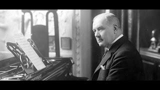 Franz Lehar plays The Merry Widow Waltz (Lustige Witwe) - Piano Roll