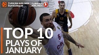 Turkish Airlines EuroLeague, Top 10 Plays of January!