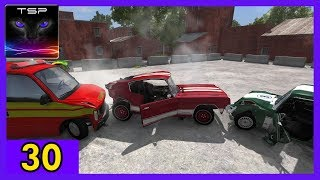 BeamNG drive - Destruction Derby #30 - Classic Muscle Car