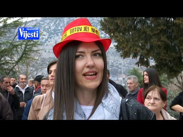 PROTEST DANILOVGRAD - TV VIJESTI 09.03.2019.