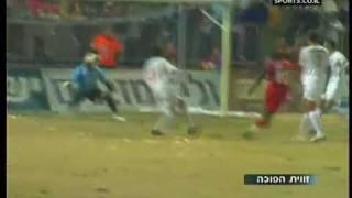 בני סכנין נגד הפועל תל אביב 0-1 עם עצירת פנדל דקה 96