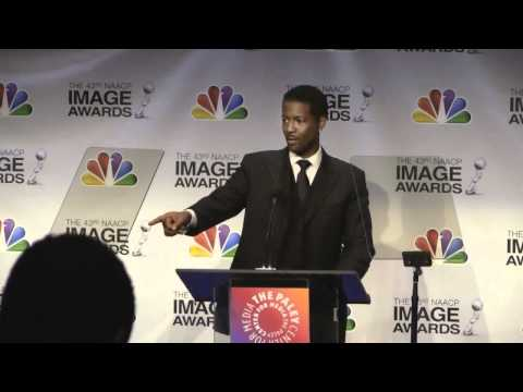 Corey Reynolds Announces Nominees at The 43rd NAACP  Awards