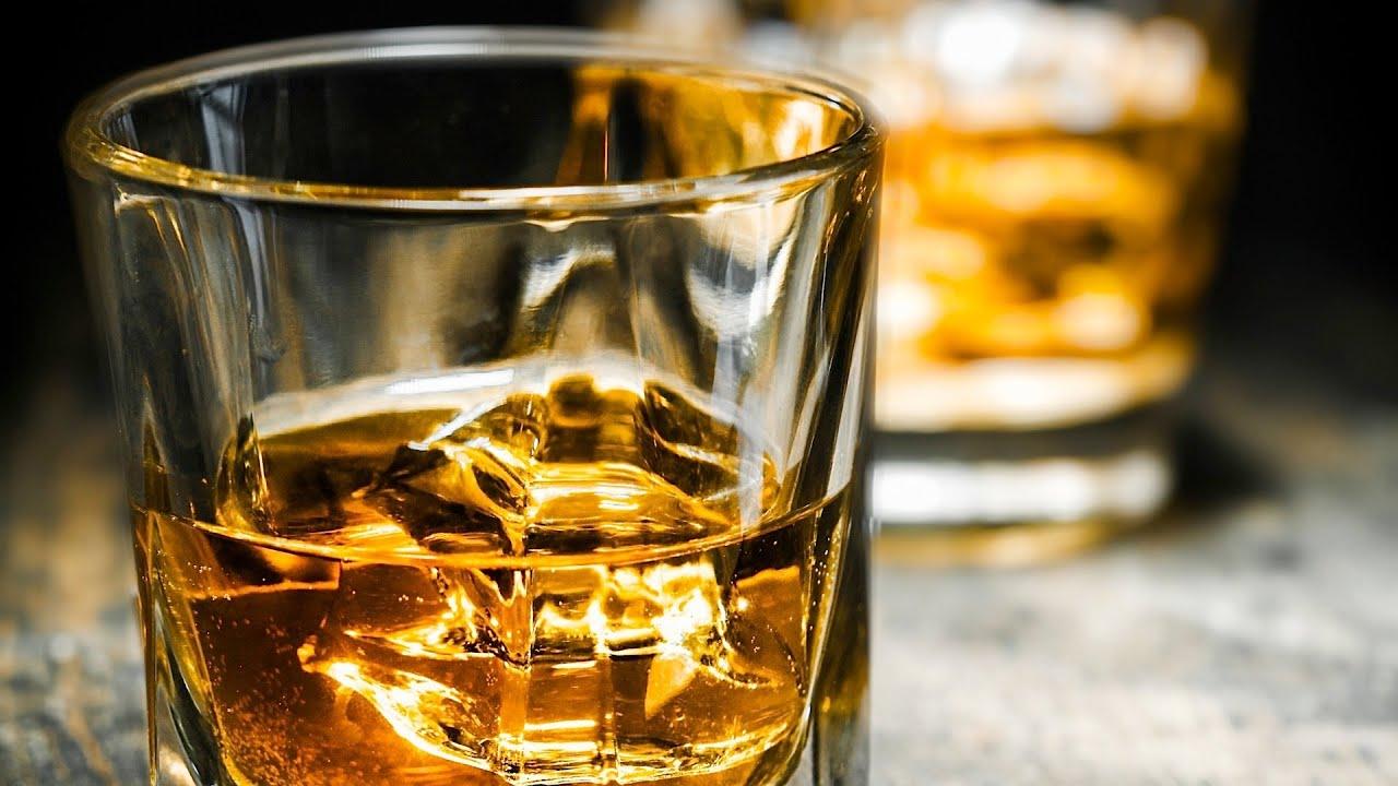 Alcohol to calm nerves before presentation