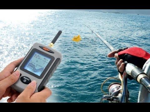 выбираем эхолот рыбалка