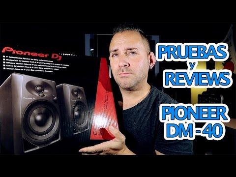 Pioneer DM-40 en español