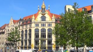 LEIPZIG(Два дождливых дня в Лейпциге. Некоторые достопримечательности в центре города. Церковь Святого Фомы Thomaskirche..., 2015-09-14T20:29:05.000Z)