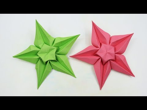 How to Make Paper Star easy - DIY Paper Star Origami