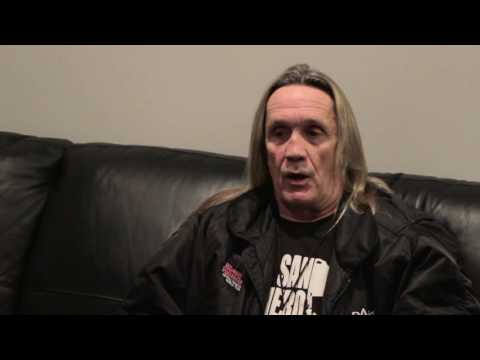Iron Maiden - Nicko McBrain Interview Part 1