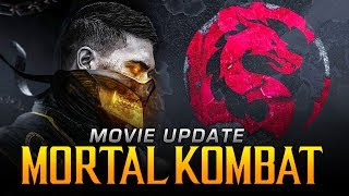 Mortal Kombat Movie 2021 - NEW Logo Revealed, Kung Lao Actor Confirmed & More Characters SOON!