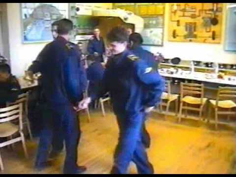 Посвящение в курсанты ККЛУГА 1997