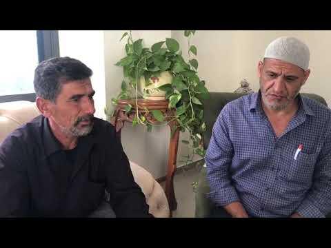 الحاج عدنان حسين حمدان والد الشاب الذي قتل في عارة يعمم رسالة