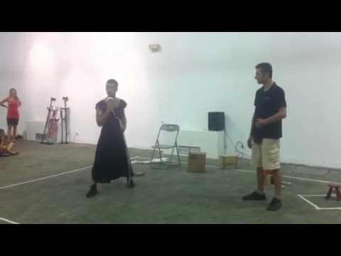 Emiliano Sanchez Alessi performing @ Technopolis Gazi