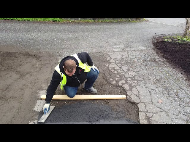HOW TO INSTALL ROMEX Pothole & Road Repair - ROMEX D4000