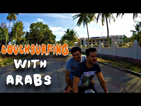 COUCHSURFING WITH ARABS IN INDIA - STAYING WITH YEMENESE
