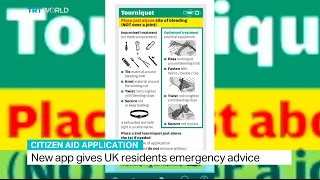 Citizen Aid Application: New app gives UK residents emergency advice