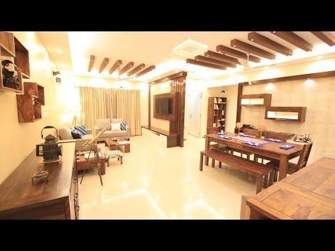 Mrs. Snigdha and Mr. Arun's home | 3BHK | Interior Design | Salarpuria Greenage | Bangalore