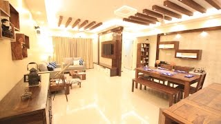 Mrs. Snigdha and Mr. Arun's home 3BHK Interior Design Salarpuria Greenage Bangalore