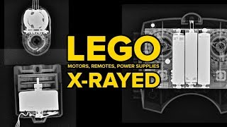 LEGO Motors, Remotes & Power Supplies X-RAYED!