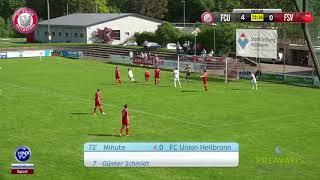29.04.2018 FC Union Heilbronn vs FSV Schwaigern