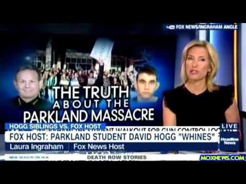"""""""Laura Ingraham Trolls Parkland School Shooting Survivor David Hogg"""""""