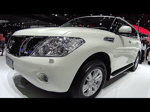new nissan patrol 2016 2017 interior exterior video youtube. Black Bedroom Furniture Sets. Home Design Ideas