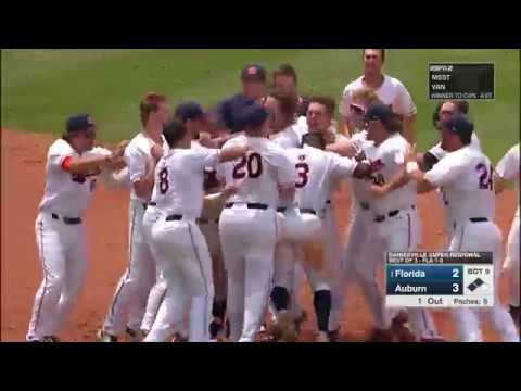 Auburn Baseball vs Florida Game 2 NCAA Super Regional Highlights