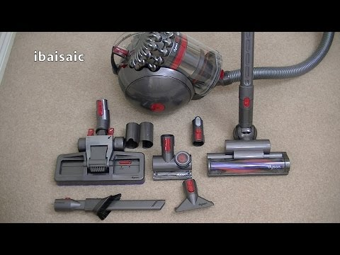 Dyson Cinetic Big Ball Animal Canister Vacuum Cleaner Unboxi