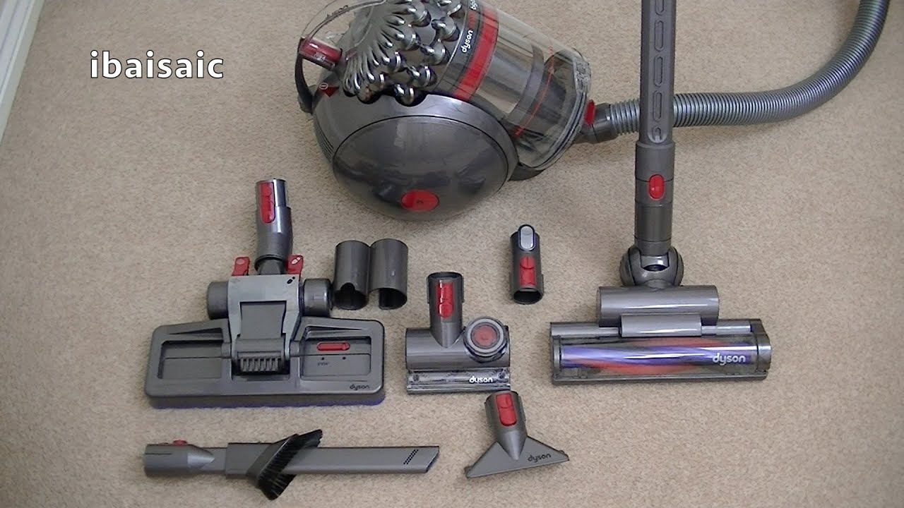dyson cinetic big ball animal canister vacuum cleaner unboxing first look youtube. Black Bedroom Furniture Sets. Home Design Ideas