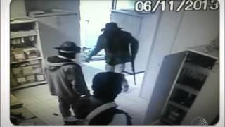 Assalto Banco do Brasil em Mucuge (Bahia TV)