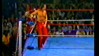 Jake Roberts vs Buzz Sawyer TV Title Tournament 1/2