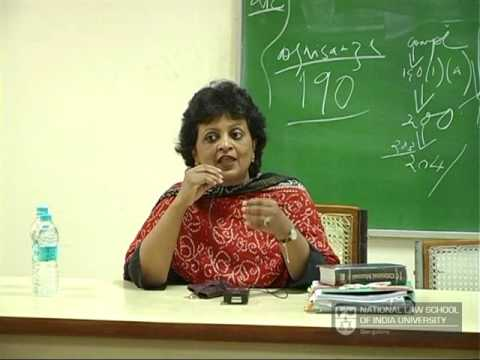 Career As A Criminal Lawyer In India : Sr. Adv. Rebecca John, NLSIU Bangalore