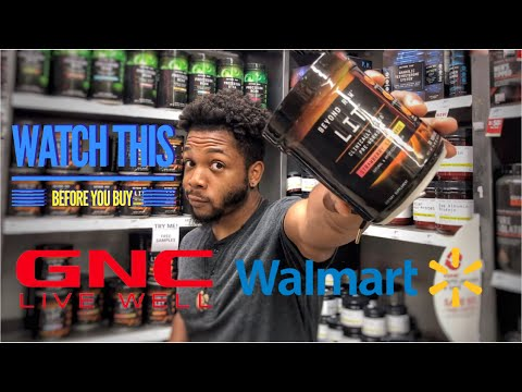 GNC Vs. Walmart   How To Choose The Right Supplements