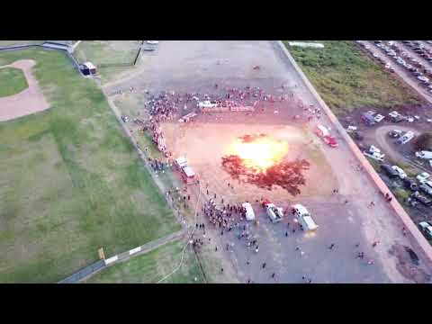 River Road high school bonfire 9-13-17