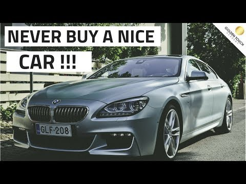 Why you should never own a nice car