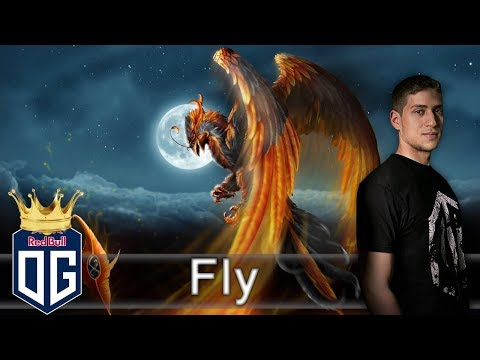OG.Fly Phoenix Gameplay - Ranked Match - OG Dota 2.