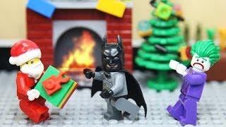 Lego Joker Build Chimney with Santa Claus
