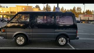 Ford Spectron 1994 4x4 turbo diesel AT по русски!